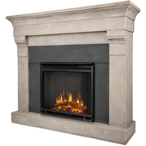 real fireplace real torrence 50 inch electric fireplace with mantel