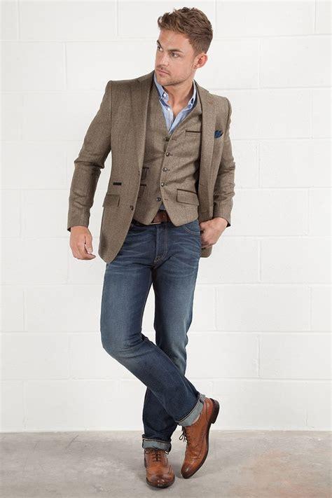 Korean Jaket Leather Brown Style 31 brown blazer for mens hardon clothes