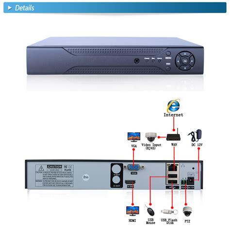 8ch nvr hdmi vga p2p cloud 1080p h 264 network