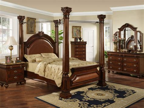 elegant king bedroom sets elegant canopy bedroom sets with rug and nighstand for