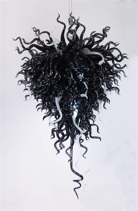 black glass chandeliers 12 best ideas of black glass chandeliers