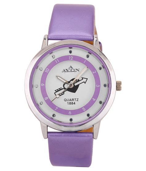 avon purple leather analog  price  india buy