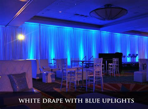 pipe and drape rental miami corporate event djs musicians lighting production in