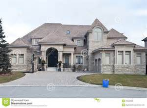 single family home stock image image of landscaping