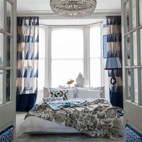 blue bedroom curtains ideas blue bedroom ideas housetohome co uk