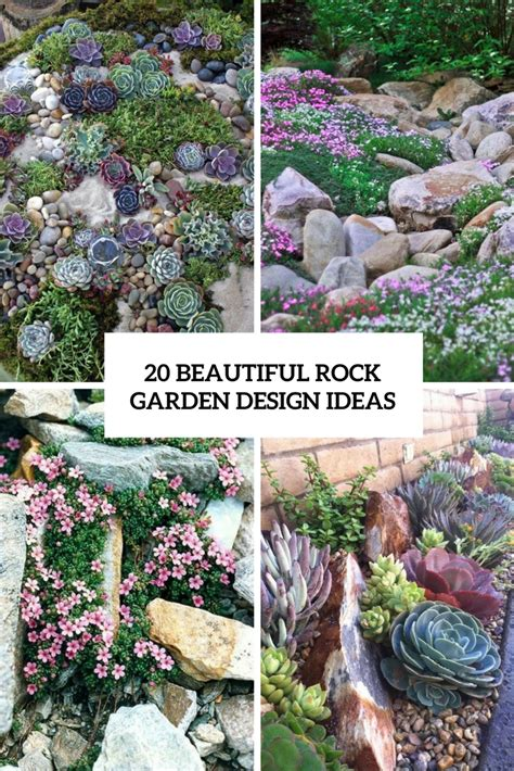How To Design A Rock Garden 20 Beautiful Rock Garden Design Ideas Shelterness