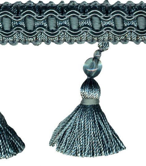 home decor trims home decor trim signature series 2 5 peacock tassel