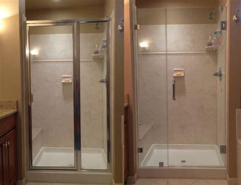 Framed Vs Frameless Shower Door Best 25 Shower Doors Ideas On Shower Door Sliding Shower Doors And Glass Shower Doors