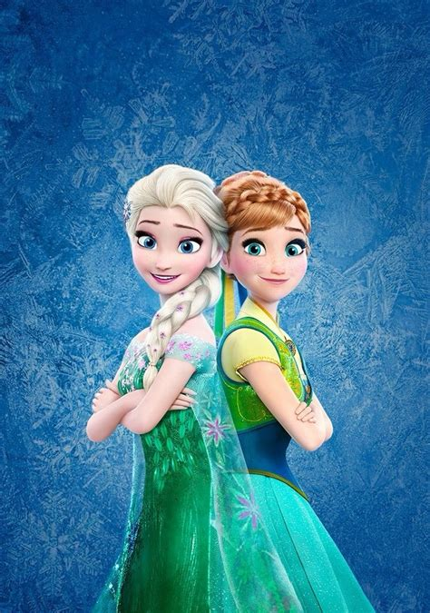 film elsa et anna frozen fever elsa and anna disney princess photo