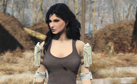 gallery of fallout 3 hair styles yennefer hair with physics fallout 4 mod cheat fo4