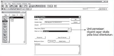 materi layout peta software keluaran data sig