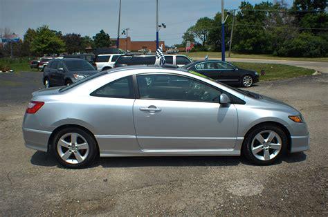 honda civic 2008 silver 2008 honda civic silver sport coupe used car sale
