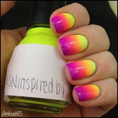 stunning neon nail designs  rock pretty designs
