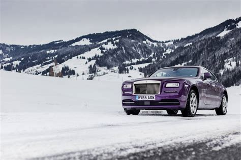 purple rolls royce gallery purple rolls royce wraith in the swiss alps