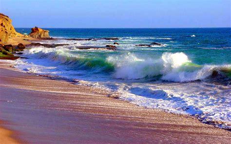 ocean waves wallpaper  wallpapersafari