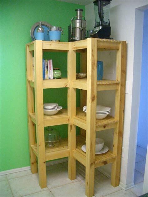 made inside outside corner shelf by sweet woodworks