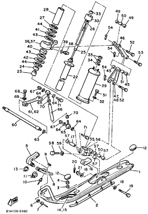 yamaha phazer exhaust diagram wiring diagrams new wiring
