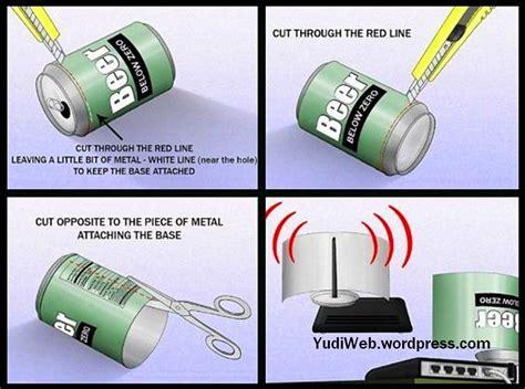 Router Buat Wifi tips tricks buat sendiri cara menguatkan sinyal wi fi router antivirus timeline