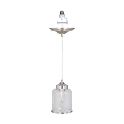 home decorators collection pendant lights home decorators collection brunswick 1 light brushed