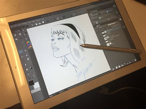 sketchbook pro lag toshiba dynapad cut corners hinder great tablet surface