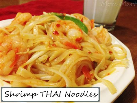 easy light dinner ideas mom mart keeping dinner light with thai shrimp noodles