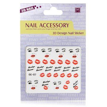 Nail Sticker Sticker Kuku 45 3d nail decal sticker nail decoration us 1 45 sold out