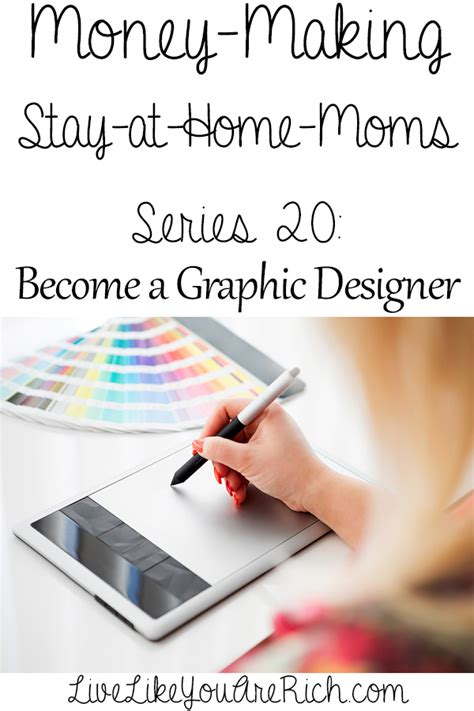 how to make money as a graphic designer from home live