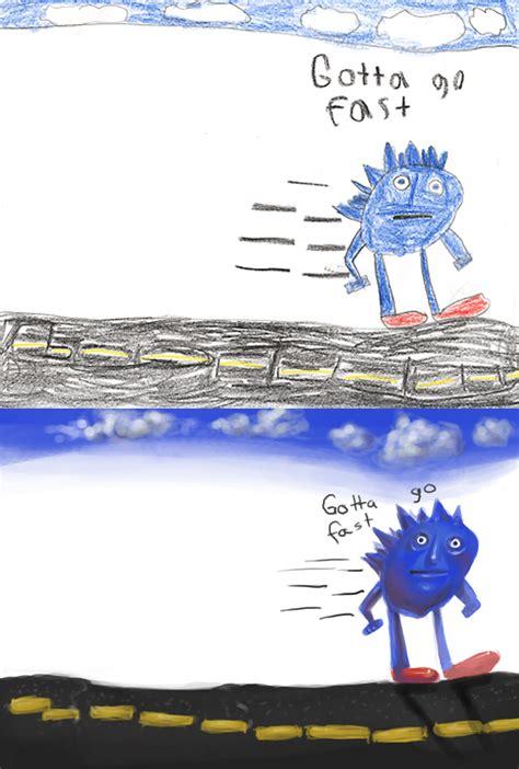 Sonic Gotta Go Fast Meme - image 159554 gotta go fast know your meme