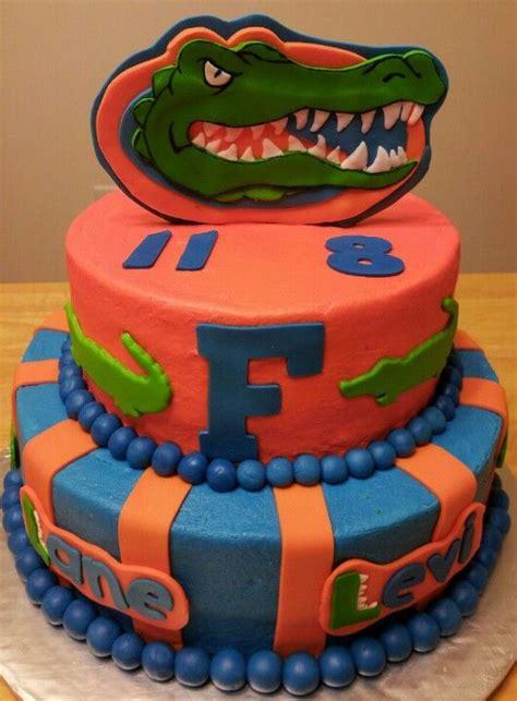 florida gator cake florida gators birthday cake my creations