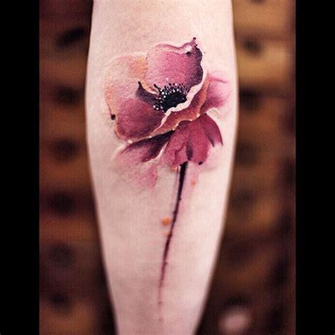 watercolor tattoos instagram 25 best ideas about watercolor poppy on