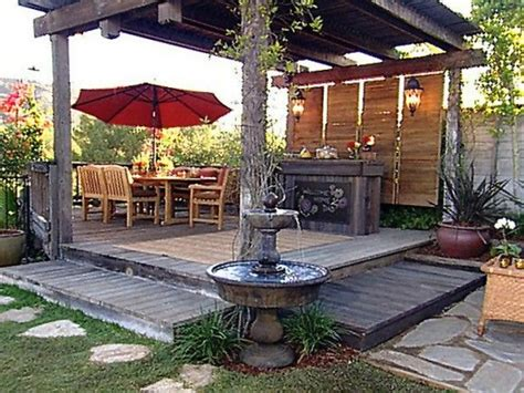 simple backyard decks simple small deck ideas our backyard pinterest