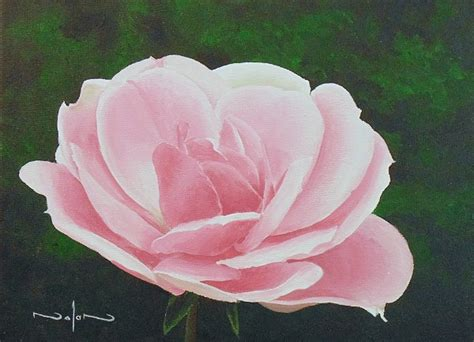 acrylic painting roses how to paint a in acrylic lessons