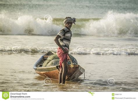 by indian indian fisherman editorial photo image 35661751