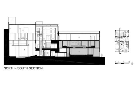 section studio theater section drawing