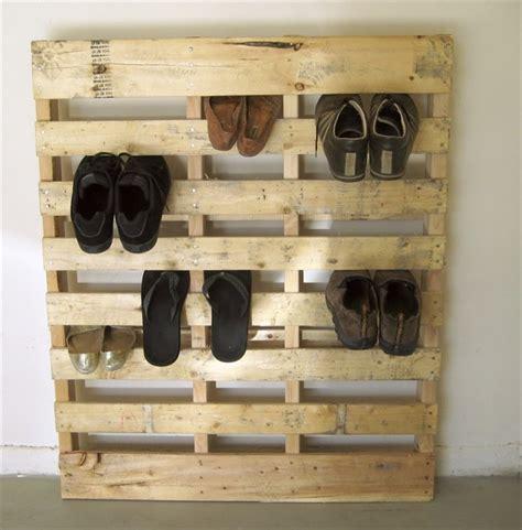 wooden pallet shoe rack ideas re using pallets subwoofers enclosures smd forum