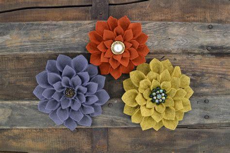 pattern for making felt flowers lovely felt flowers for mother s day free patterns