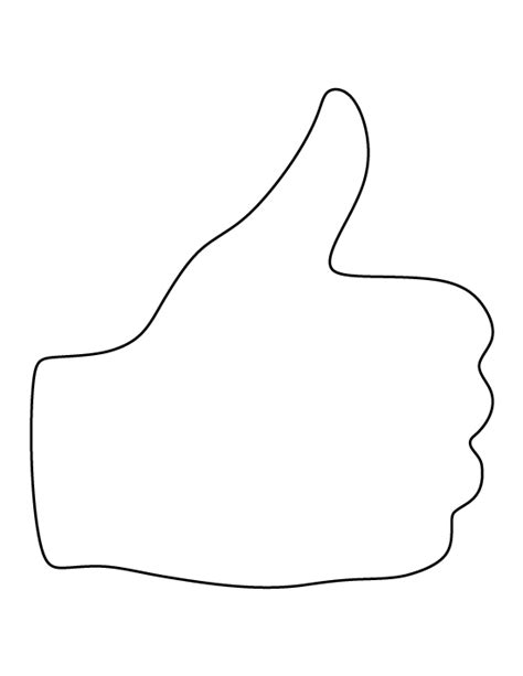 coloring page thumbs up thumbs up coloring pages printable thumbs best free