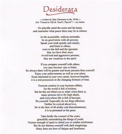 printable version satsang desiderata