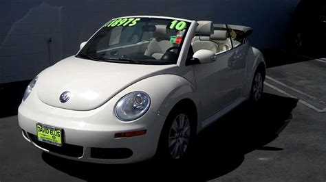 Used Convertible Volkswagen Beetle For Sale by Used 2010 Vw Beetle Convertible For Sale Stk 244et