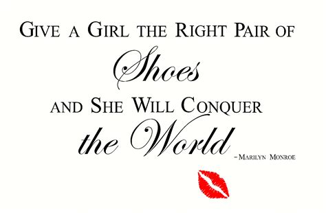 give a a pair of shoes quote give shoes a quotes quotesgram