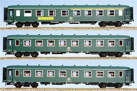 Various Types Of Ls ls models set of 3 passenger cars type i2 eurotrainhobby