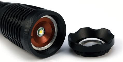 Converter Baterai Senter Aaa Adapter Aaa Jsm Senter Led Tactical Cree Xm L T6 8000 Lumens Black