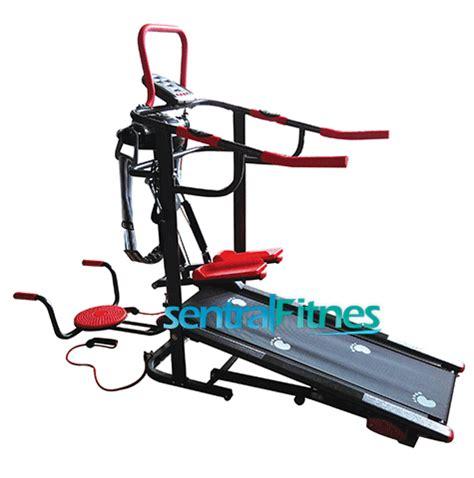 Karpet Fitnes daftar harga alat fitnes treadmill elektrik dan manual