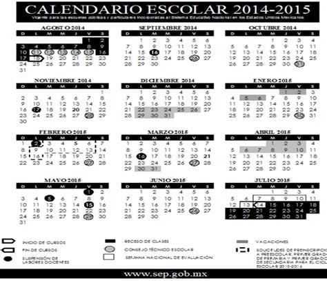 Calendario Escolar 2014 Usa Calendario Escolar 2014 2015