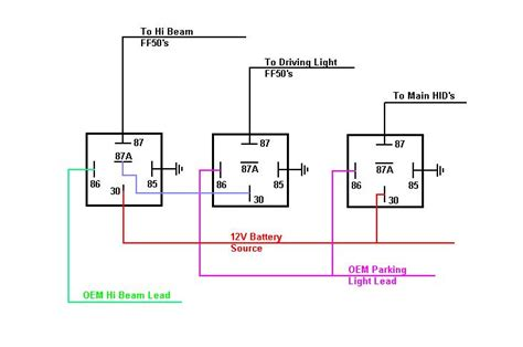 30 4 pin relay wiring diagram get free image about