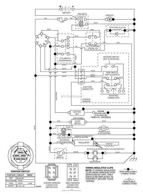 husqvarna yth      parts diagram  schematic