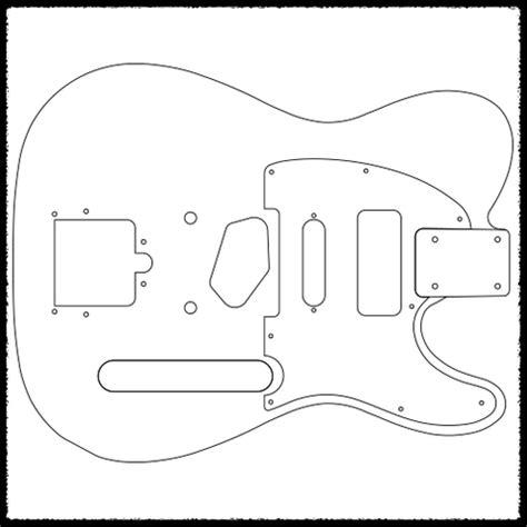 guitar routing template telecaster guitar routing templates faction guitars