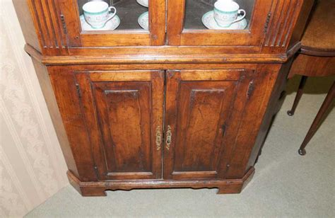 cherry wood corner cabinet farmhouse cherry wood corner cabinet display bookcase