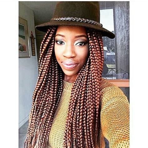 how to part hair for boxed braids 50 trendy box braids hairstyles herinterest com