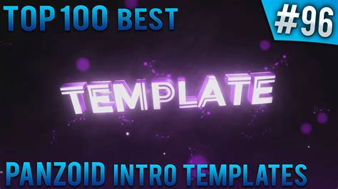 Top 100 Best Panzoid Intro Templates 96 Free Download Youtube Panzoid Intro Templates